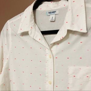 Old Navy • White Shirt • Small